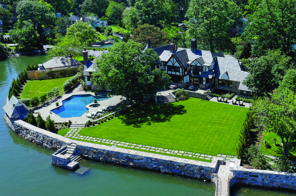 1 Cedar Island, Larchmont, NY; Sold for $6,800,000